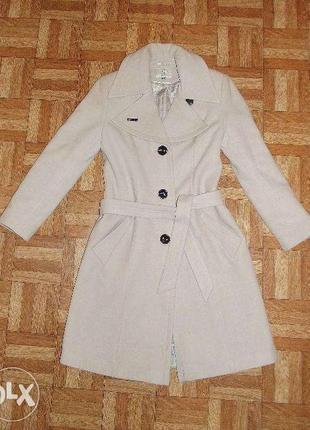 Кашемировое пальто на весну-осень- зиму. италия. made in italy. осеннее пальто
