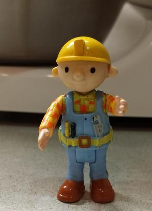 Фигрурка из мультика строитель боб bob the builder, оригинал.