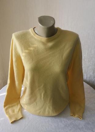 Кашемировый свитер braemar.