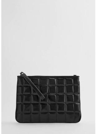 Стеганая сумочка на цепочке
