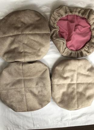Handemade суперские чехли -подушки на резинке ,с мебельной ткани