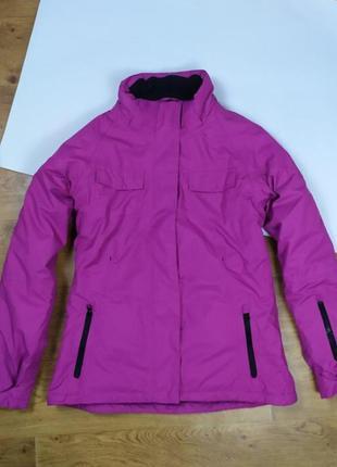 Куртка лыжная фиолетовая розовая atrium