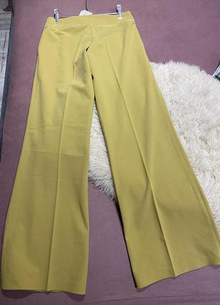 Anett-винтажные штаны-клёш,лимонного цвета 🍋