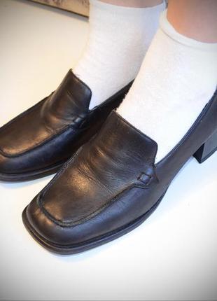 Туфли лоферы (италия) кожа, все товары распродаются!