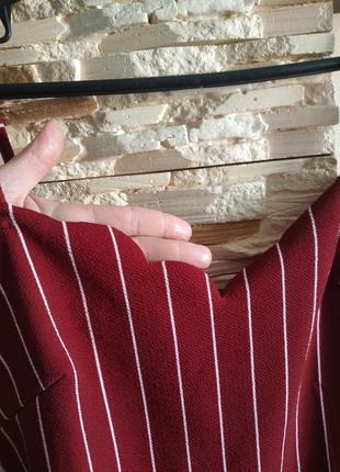 Блуза в полоску на брителях майка топ5 фото