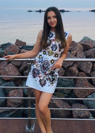 ❤️красивое нарядное платье xs, s