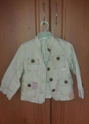Куртка пиджачок на девочку