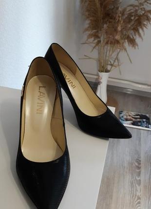 Туфлі лодочки (шкіра)🍀
