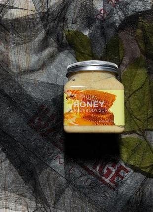 Скраб для тела wokali honey sherbet body scrub 350 мл