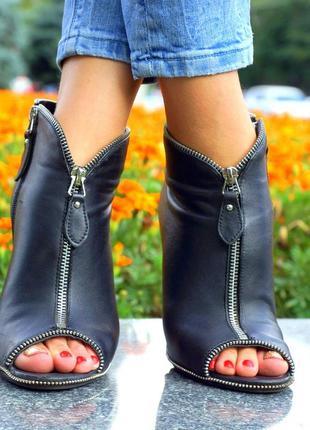 Нереально стильные ботильоны sasha fabiani с открытым носком