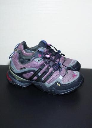 Оригинал adidas terrex mid gtx w gore-tex женские кроссовки трейлраннинг бег