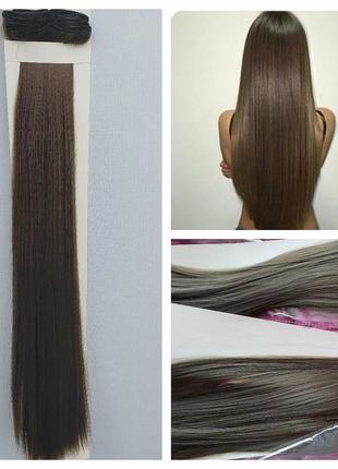 Волосы на заколках пепельно-русые