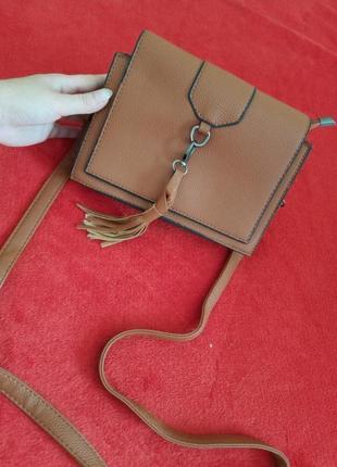 Сумка сумочка через плечо на длинном ремешке клатч