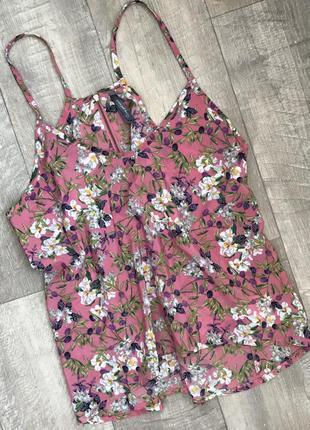 Красивая летняя блуза топ в цветочный принт🌸