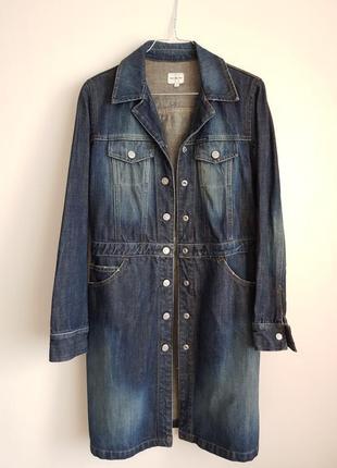 Тренч, удлиненный пиджак celvin klein jeans.
