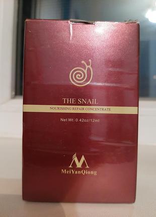 Сиворотка хит the snail nourishing repair concentrate улитка