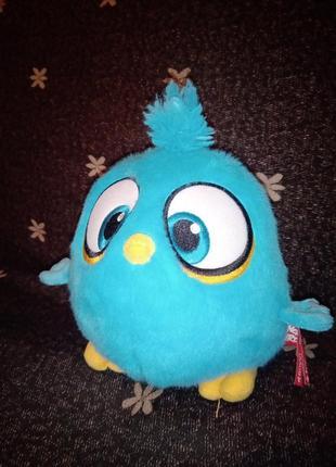 Мягкая игрушка весёлая птичка angry birds