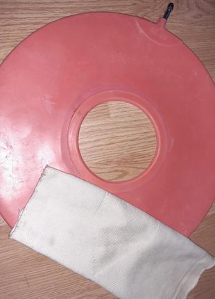 Круг резиновый подкладной + пластини