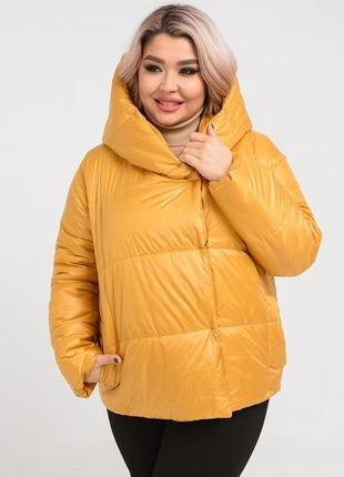 Демисезонная курточка, размеры 48-50, 52-54, 56-58