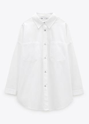 Рубашка zara оверсайз