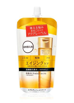 Лосьон рефил shiseido aqualabel bouncing care lotion moist япония