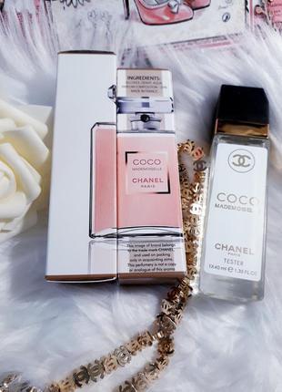 Coco mademoiselle тестер 40мл, духи, парфюм, туалетная вода, парфуми