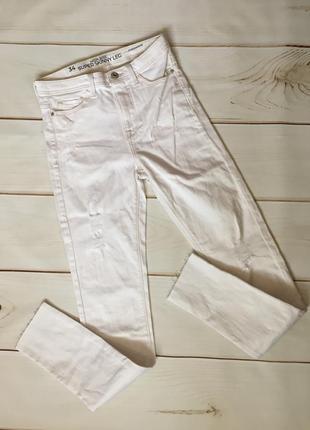 Женские джинсы - скини. размер xs. бренд c&a