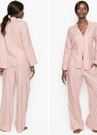 Розовая пижама victoria's secret