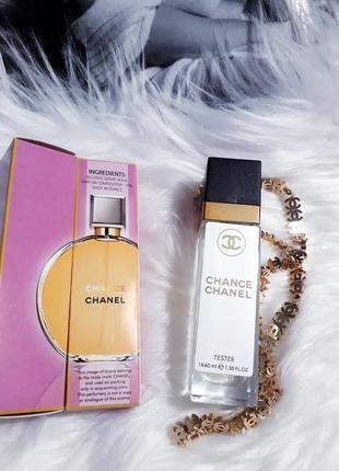 Chance тестер 40мл, духи, парфюм, туалетная вода, парфуми, аромат
