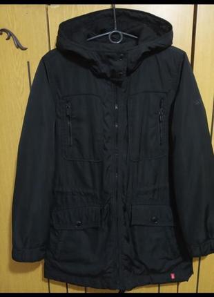 Парка тёплая классная с капюшоном на синтепоне, куртка