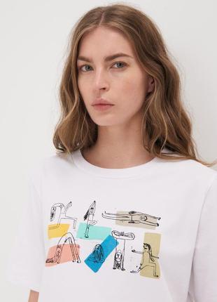 Базовая оверсайз футболка р s xs