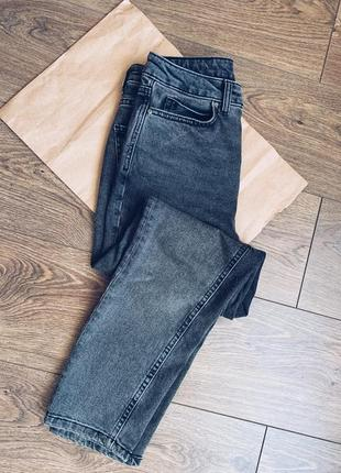 Серые прямые джинсы vero moda