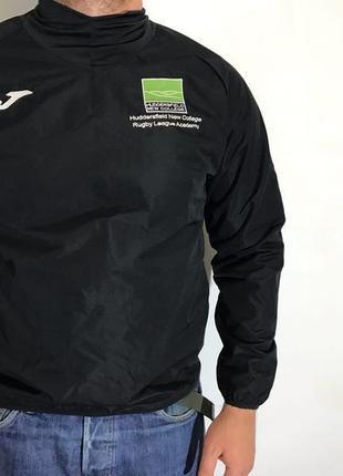 Мужская спортивная кофта (свитшот) joma ( джома мрр идеал оригинал черная)
