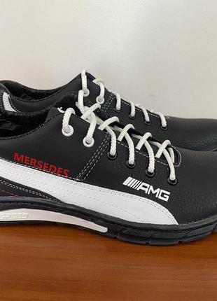 Туфли мужские спортивные черные - чоловічі туфлі спортивні чорні