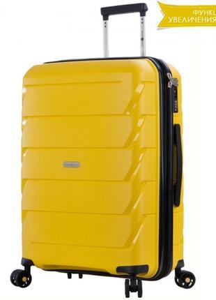 Дорожний чемодан snowball paris 92803, валіза дорожня на колесах