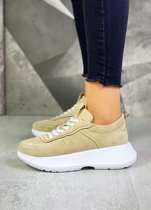 Кроссовки на мягкой подошве