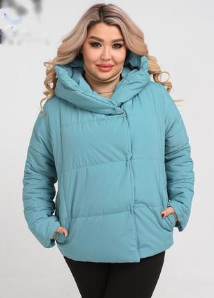 Куртка женская демисезонная размеры: 48-58