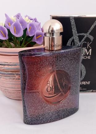 Yves saint laurent black opium nuit blanche опиум парфюмированная вода женская духи парфюм