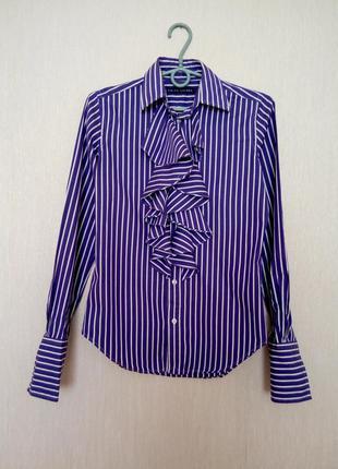 Трендовая рубашка. блуза. ralph lauren ( 2 размер).