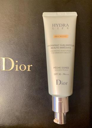 Тональный увлажняющий крем dior hydra life bb creme