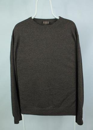 Шикарный кашемировый свитерок cashmere collection brown sweater