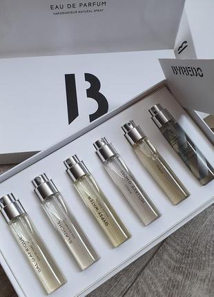 Набор byredo la selection travel eau de parfum gift set (6 ×12ml)