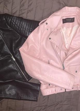 Куртка с эко кожи