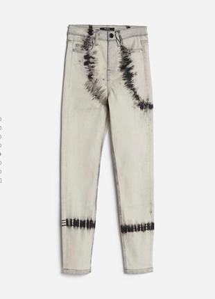 Стильные джинсы скини на высокой посадке2 фото