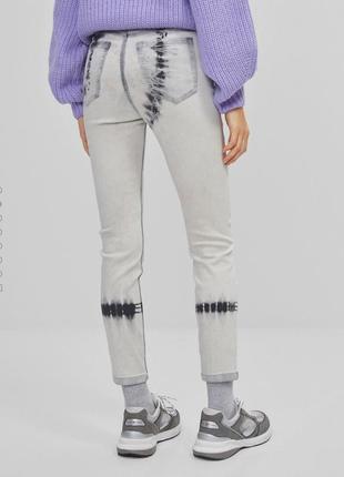 Стильные джинсы скини на высокой посадке3 фото