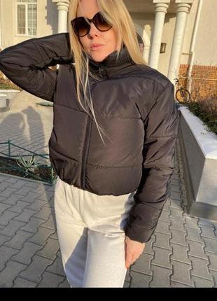 Модная куртка зефирка