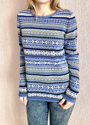 Зимний свитер montegro