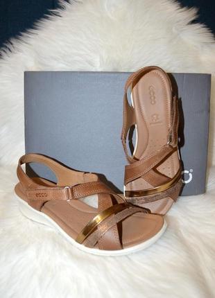 Кожаные босоножки сандалии ecco felicia 39 и 42 размер доставка!
