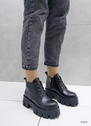 Жіночі демі черевики, ботинки женские демисезонные, демисезонные ботинки кожа