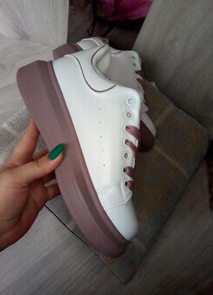Женские ботинки кеды зимние деми